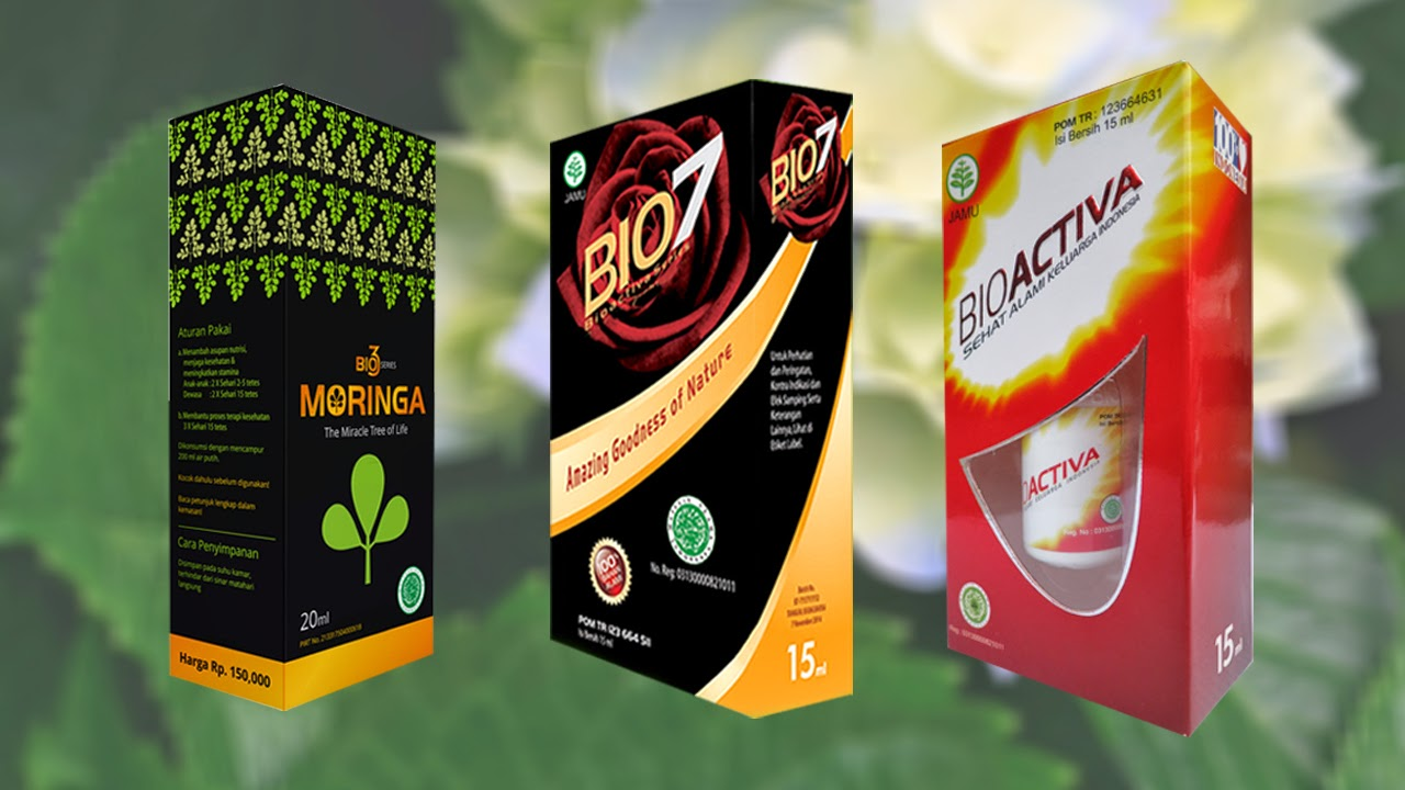 Bioactiva series & BioMoringa Tetes