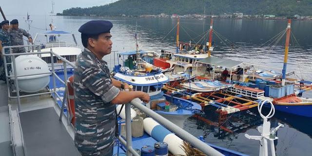 Sepanjang Tahun 2015, 157 kapal asing pencuri ikan berhasil ditangkapdi laut RI