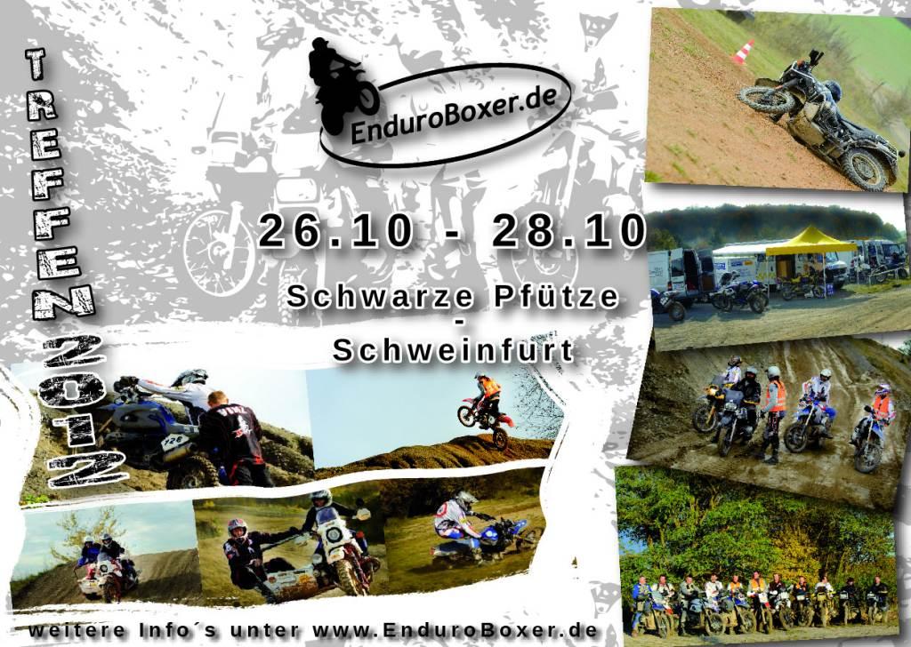 EnduroBoxer Treffen und Fahrertraining 2012
