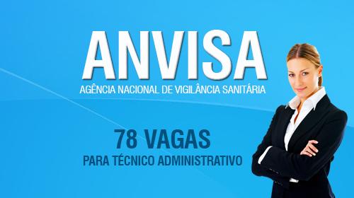 Técnico Administrativo ANVISA 2016