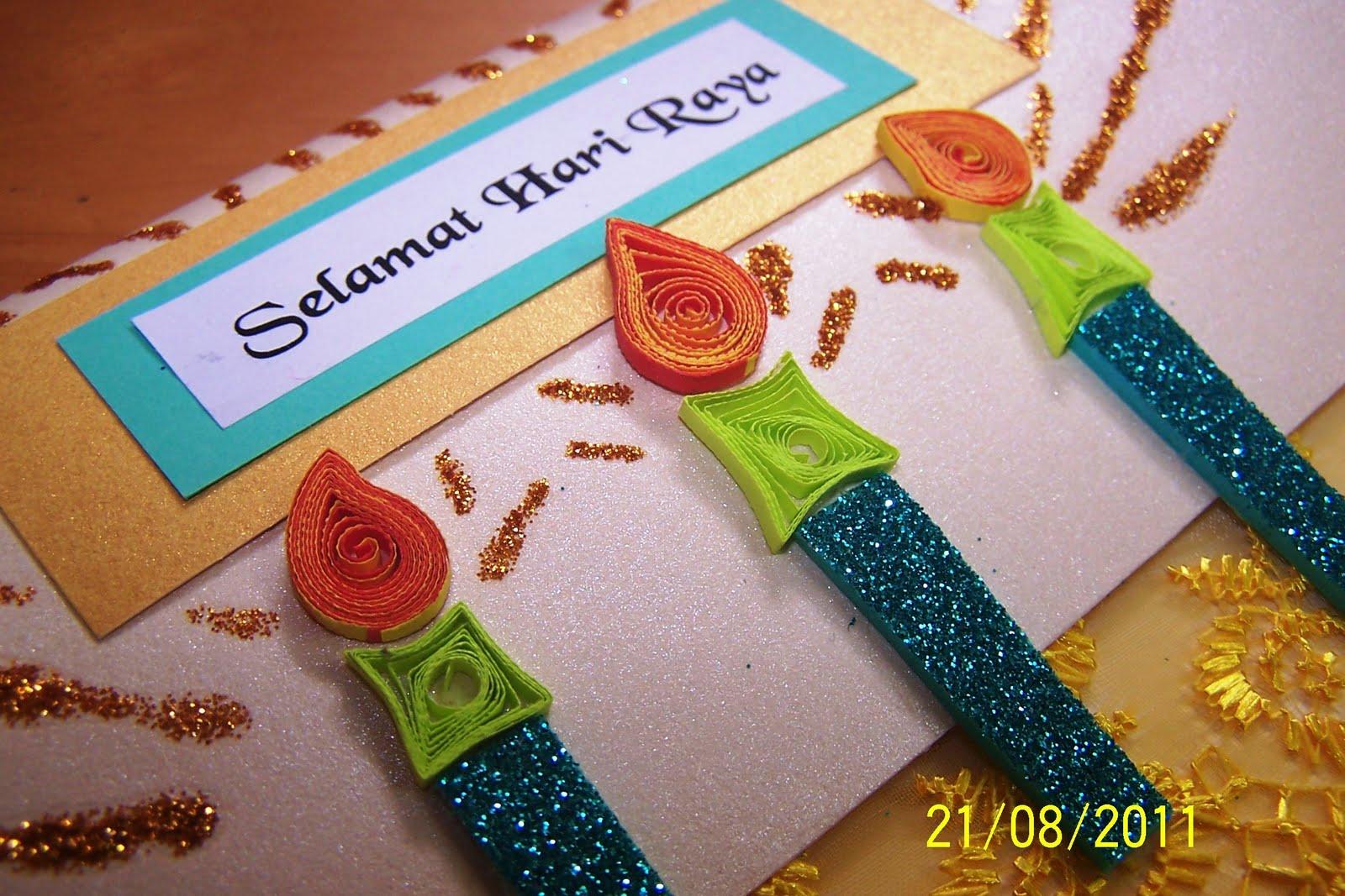 Elaine's Creative Cards: Hari Raya Cards - 3rd installment