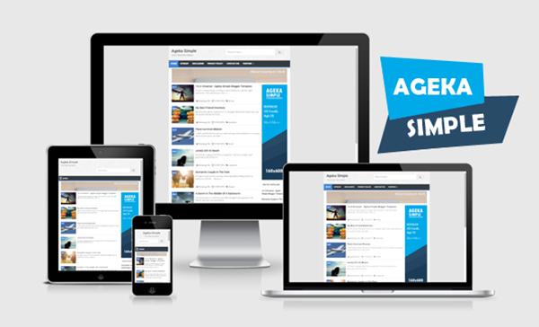 ageka simple responsive blogger templates kaizentemplate