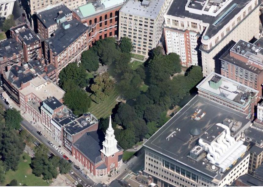 The Urbanist S Guidebook Granary Burying Ground Boston