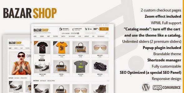 Descargar] Plantilla Wordpress Bazar Shop - Comercio electrónico ...