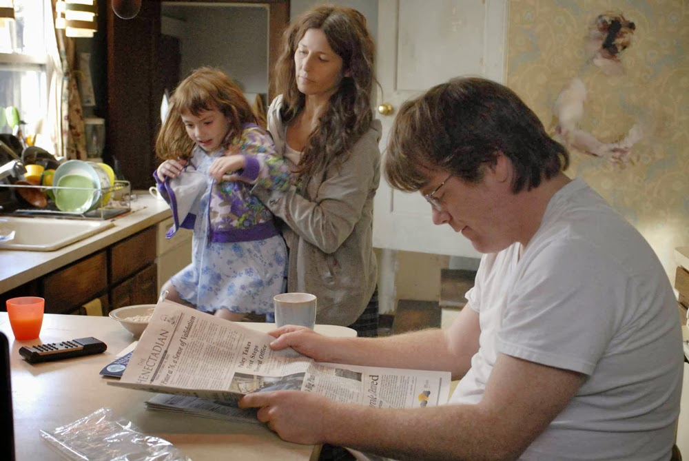 Philip Seymour Hoffman and Catherine Keener in Synecdoche, New York
