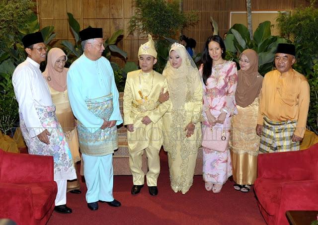 Najib hadir majlis kahwin