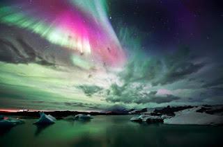 aurora city icelandia Tempat Teindah Didunia dengan Pemandangan Paling Indah