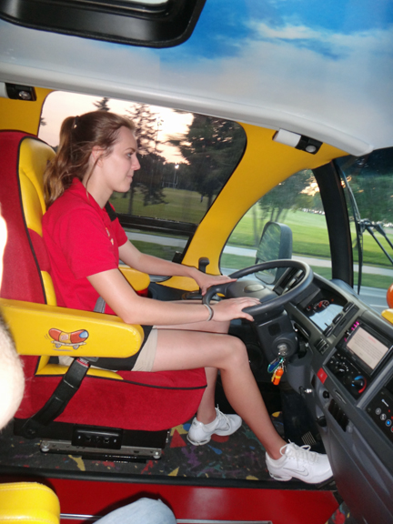 i have never day 39 riding in a wienermobile foot long brat. Black Bedroom Furniture Sets. Home Design Ideas