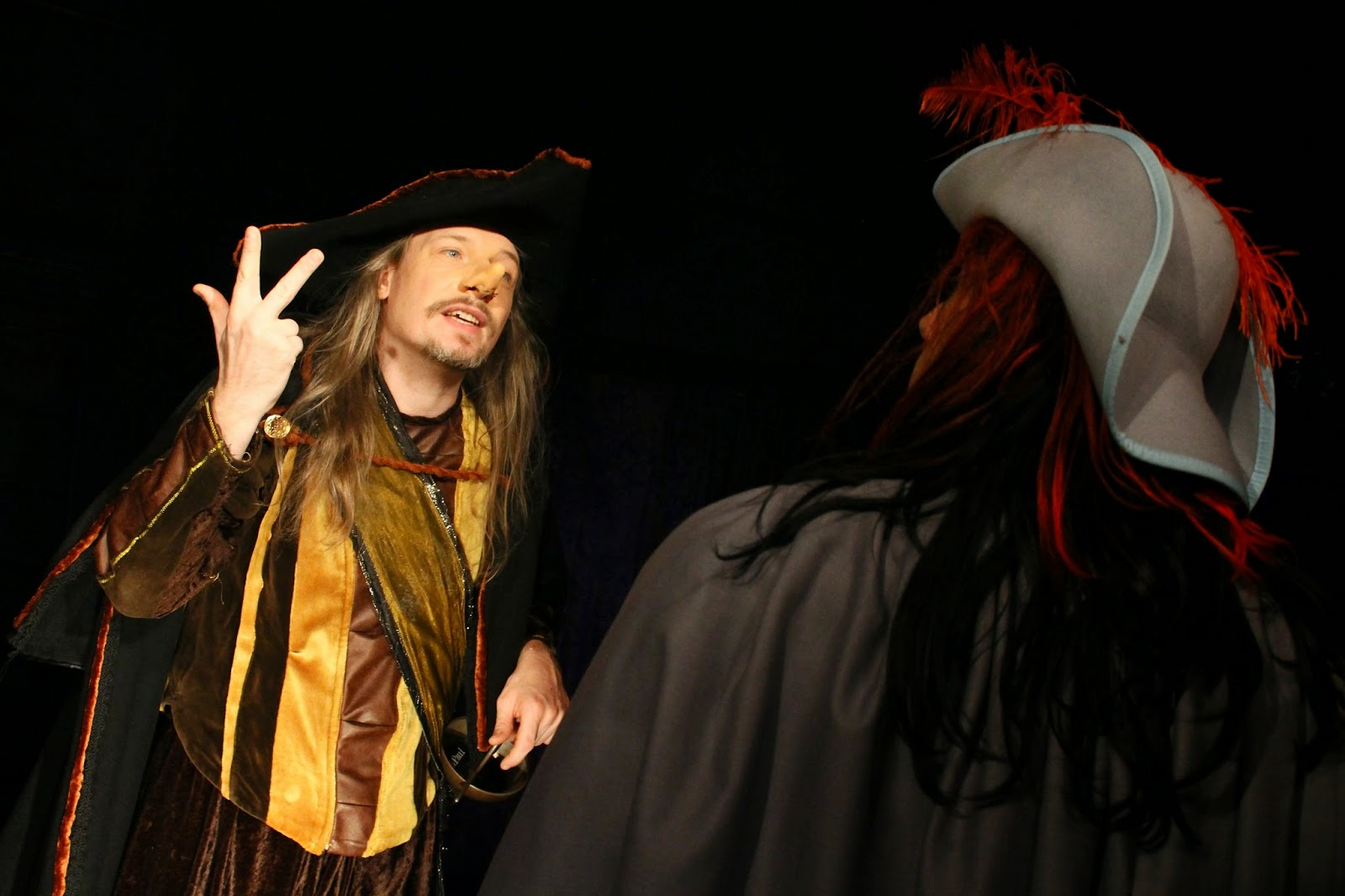 Cyrano de Bergerac, tirade des nez - Compagnie Michel B
