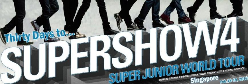 Thirty Days to Super Show 4 SG