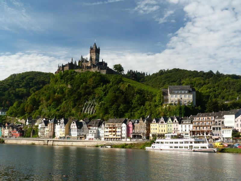 Gersyko postcards: GERMANY - Cochem castle