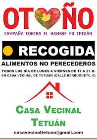 Otoño, campaña contra el hambre en Tetuán