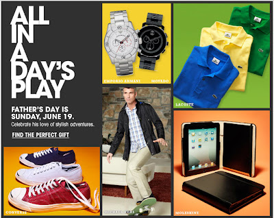 Click to view this June 2, 2011 Bloomingdale's email full-sized