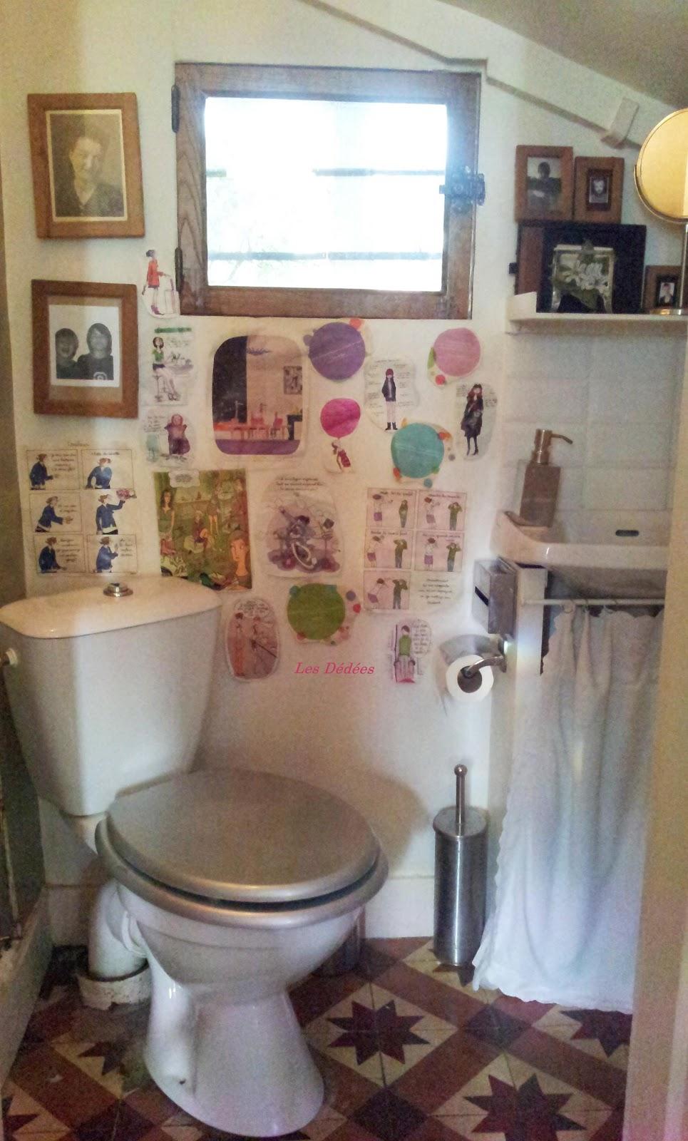 d coration wc retro. Black Bedroom Furniture Sets. Home Design Ideas