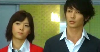 Nodame and Chiaki talk