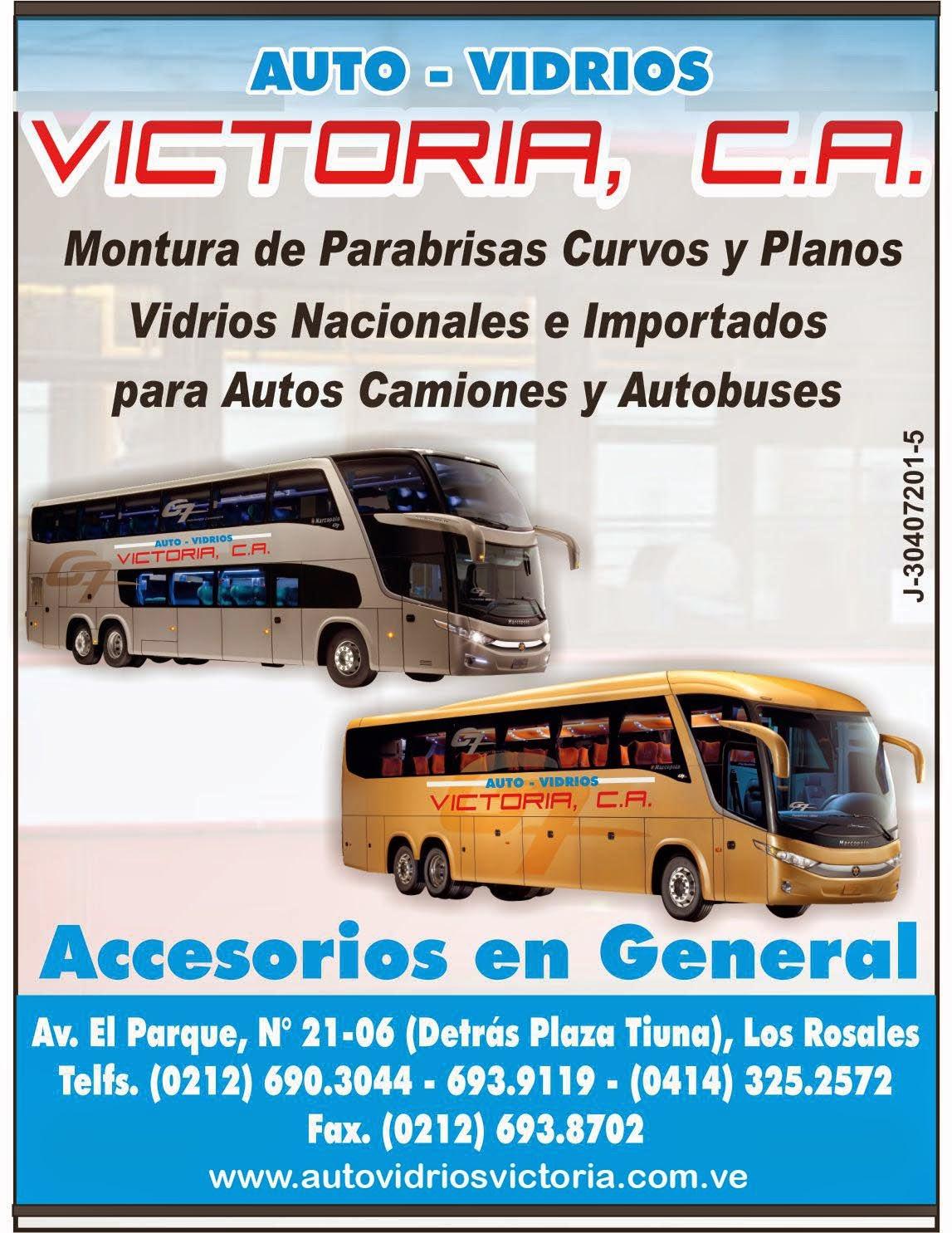 AUTO VIDRIOS VICTORIA, C.A. en Paginas Amarillas tu guia Comercial