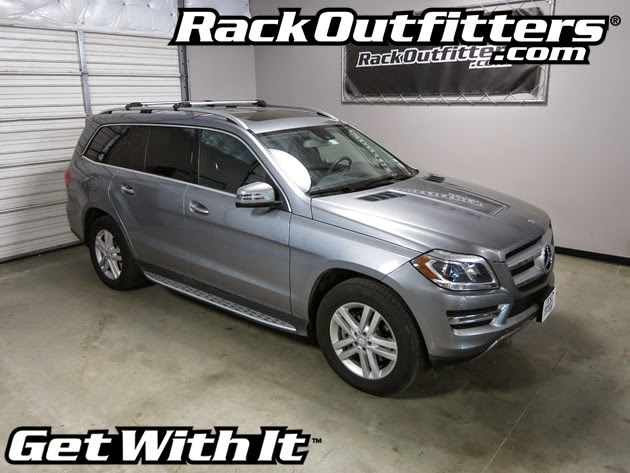 Mercedes Benz Gl Thule Silver Aeroblade Edge Base Roof