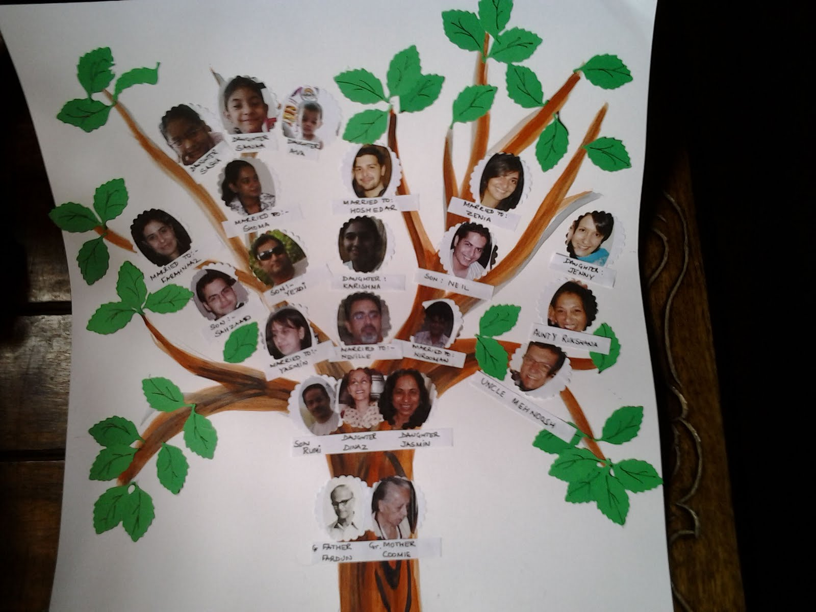 Family Tree School Project Ideas