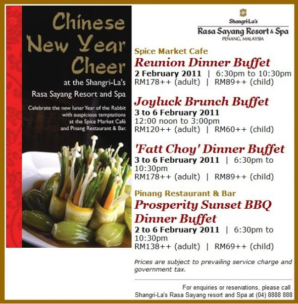 ... New Year Promotion Chinese New Year Dinner Promotion Singapore 2013