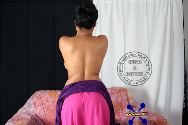 Sexy Indian Wife Goddess Rati In Saree indianudesi.com