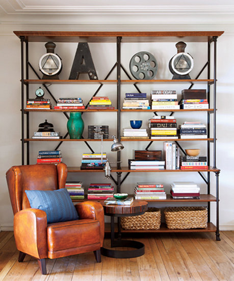 Bookshelf Decorating Ideas 459 x 550