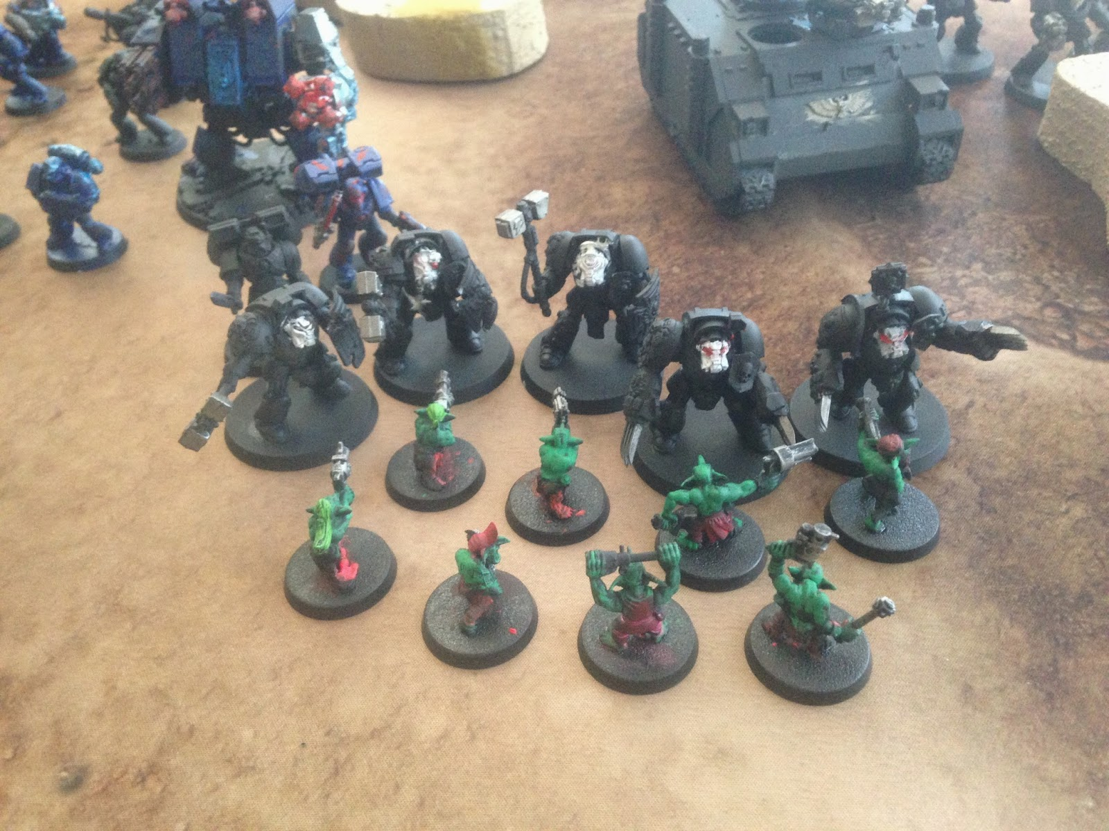Gretchins fight Terminators, BAO 2014