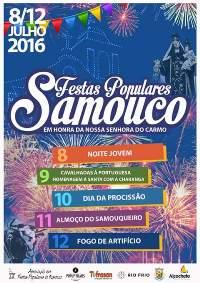 Samouco- Festas em Hª de Nª Srª do Carmo 2016- 8 a 12 Julho