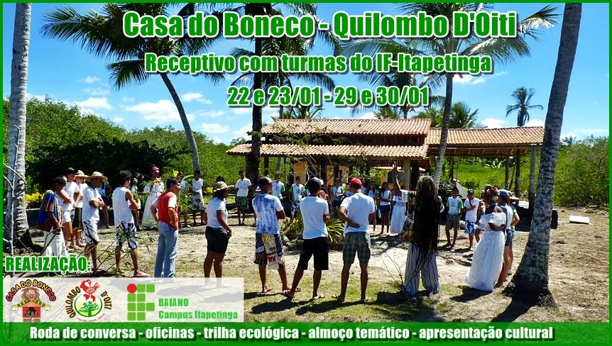 Casa do Boneco - Quilombo D'oiti