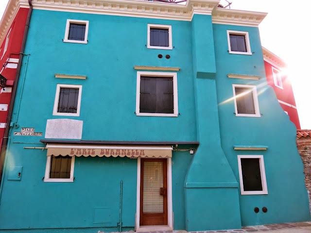 Burano island venice house