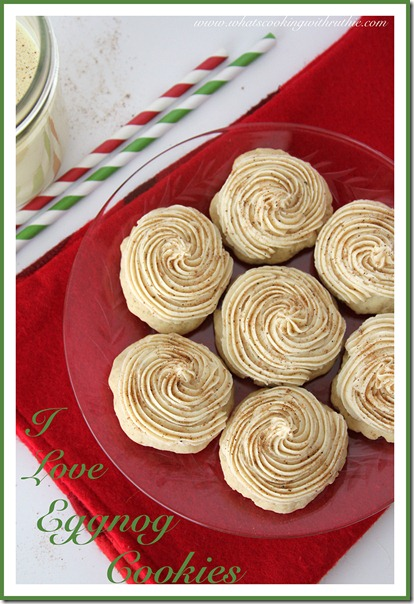 Eggnog Cookies by What's Cooking with Ruthie on Remodel Aholic