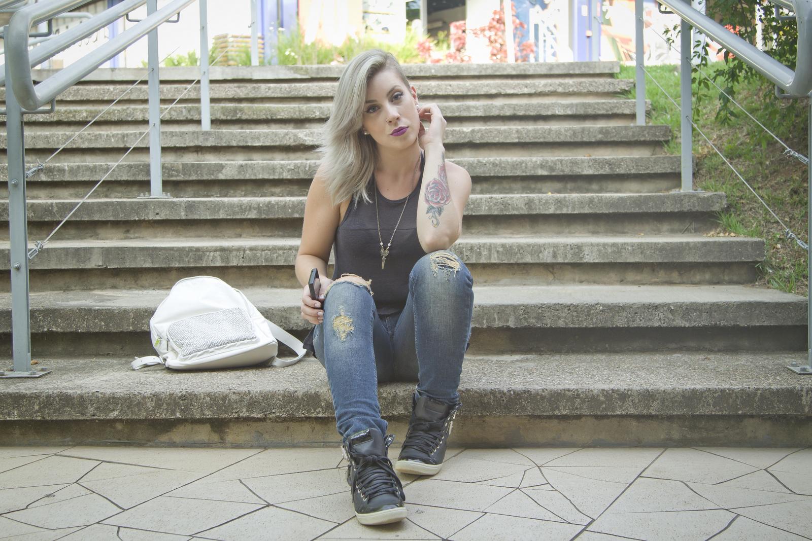 Brazilian Blogger, brazilian connection, Carol Maya, casual, Ellus Jeans, Made in Brazil, Urban Women,