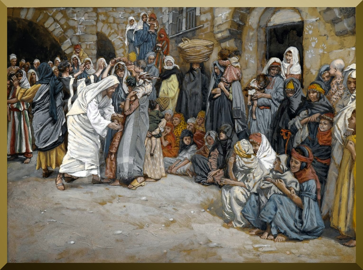 """Suffer the Little Children to Come unto Me"" -- by James Tissot.jpg"