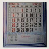 A evolução do Calendário, o modo de marcar o tempo.