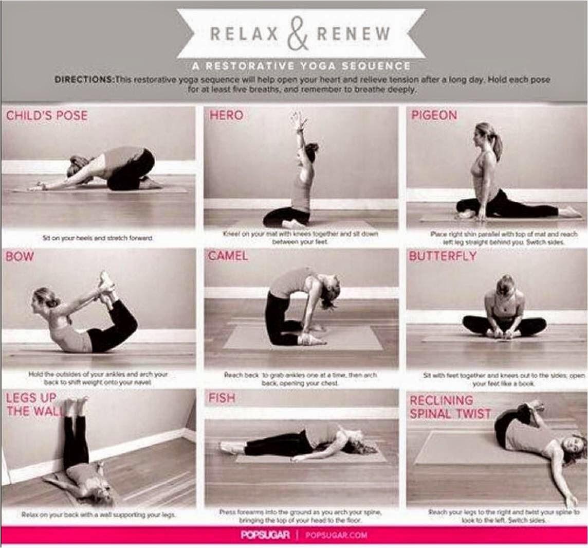 Proyectofit2014 rutina de yoga para relajar cuerpo y mente fitness chicness - Relajar cuerpo y mente ...