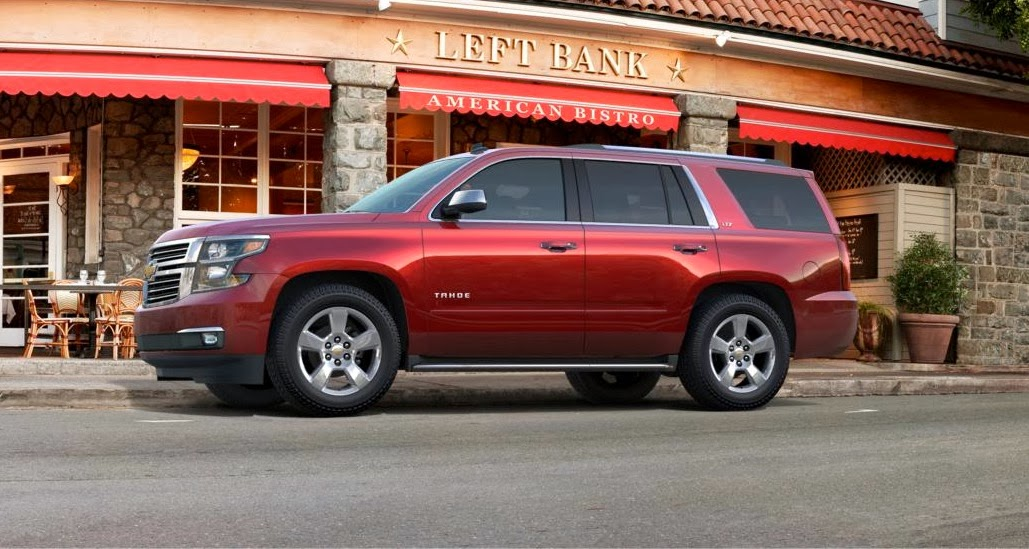 2015 Chevy Tahoe & Suburban Pricing Announced