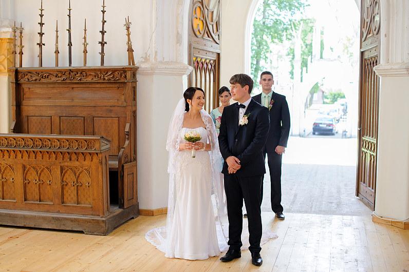 vestuvės Naujamiesčio Šv. apašt. Mato bažnyčioje