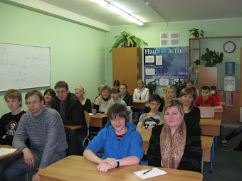 На собрании  учащиеся вместе с родителями!