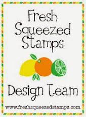 I design for Fresh Squeezed Stamps