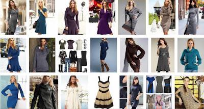 bayan kışlık elbise fiyatları women's dress bayan elbisesi