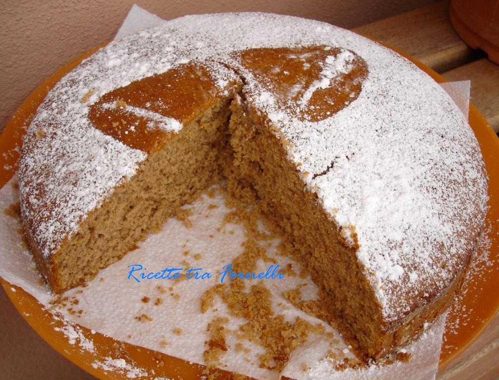 Ricette tra i fornelli torta alla farina di castagne for Dolce di castagne