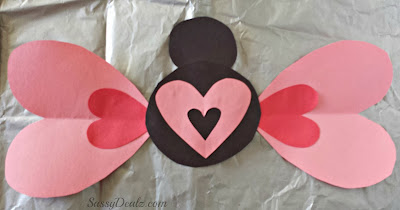 butterfly valentines day craft for kids