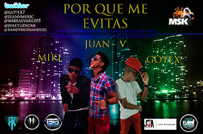 Por Que Me Evitas - Juan V Ft Mike & Gotex