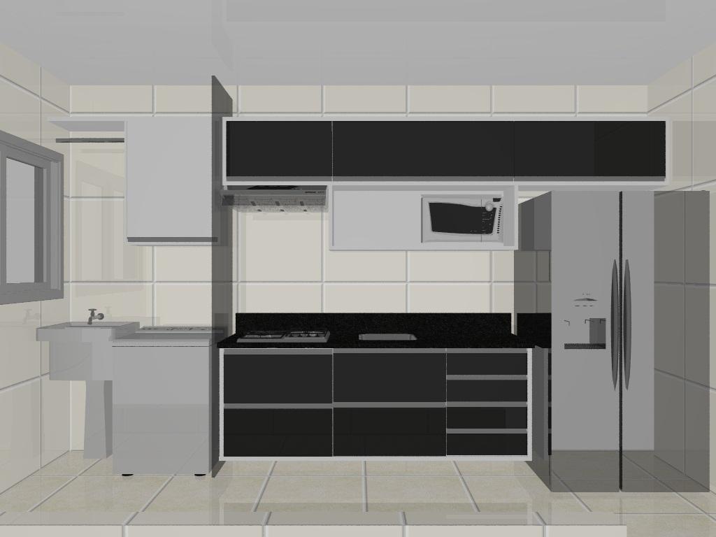 Cozinha corredor  #6E695D 1024 768