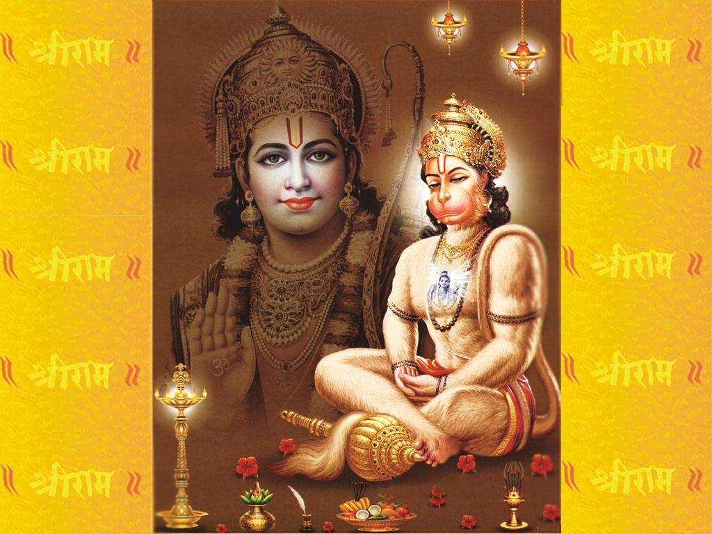 Free Download Lord Hanuman HD Wallpaper for Mobile - Festival Chaska
