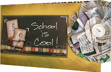 School days Minibook tag