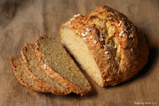 receta white soda bread