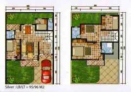 3 contoh denah rumah minimalis 2014