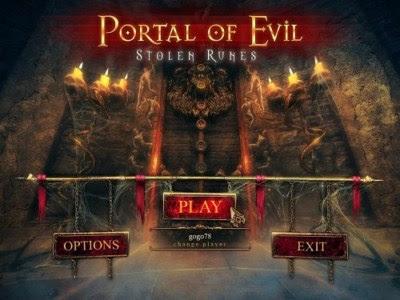 Portal of Evil Stolen Runes