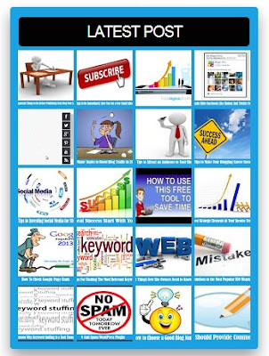 Tooltips Recent Post Widget For Blogger With Thumbnail