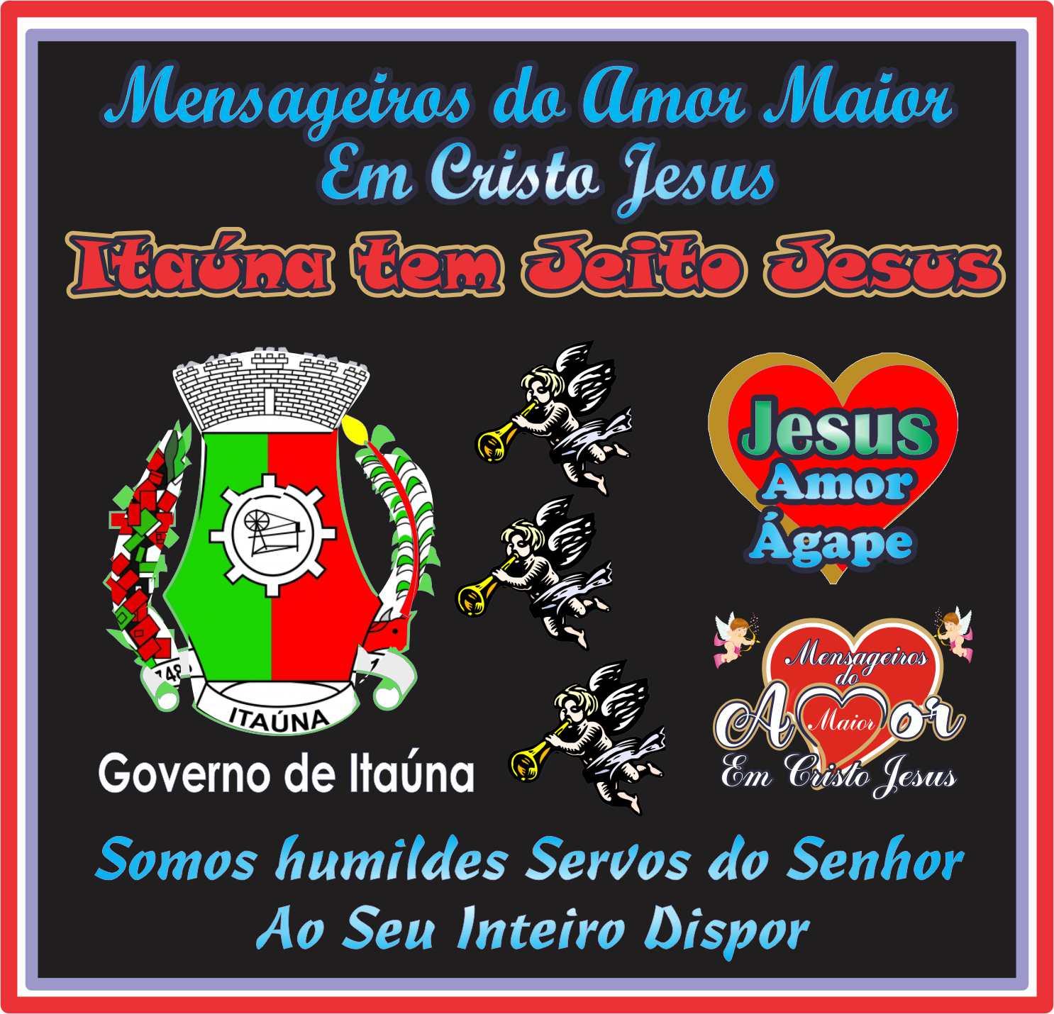 Itaúna Tem Jeito Jesus Cristo NossoEterno Senhor